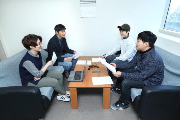 왼쪽부터 이지원, 천웅소, 우지수, 이진혁. ©이영균