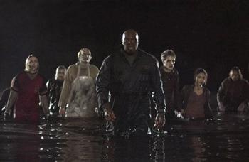 「시체들의 땅」에 이르러 좀비는 마침내 혁명의 주체로 등장한다.