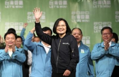 차이 잉원 총통은 대만 사상 최다 득표를 기록하며 연임에 성공했다. ⓒAP연합뉴스